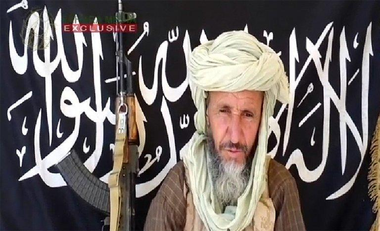One of the leaders of Al-Qaeda in the Islamic Maghreb (AQIM), Abdelhamid Abou Zeid is shown in an undisclosed place, December 25, 2012. An Al-Qaeda source has confirmed Zeid's death, in the most significant success yet for the French-led operation against Islamist fighters in Mali