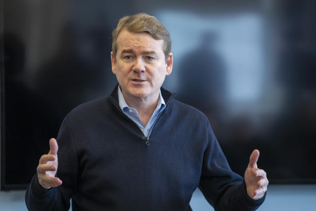Michael Bennet (AP Photo/Mary Altaffer)