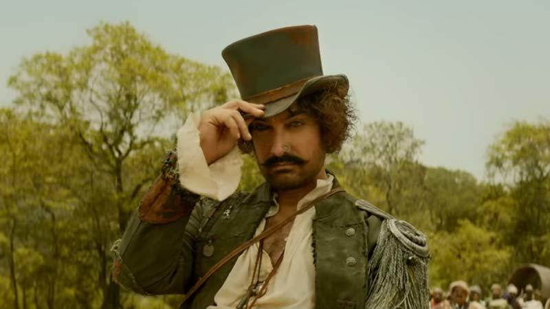A Still Of Aamir Khan From Thugs Of Hindostan