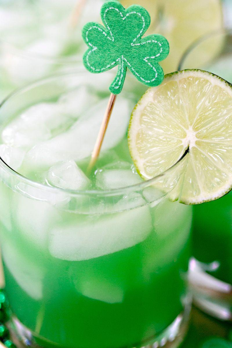 """<p>You gotta have a shamrock pick in there. You just gotta. </p><p>Get the recipe from <a href=""""http://pizzazzerie.com/holidays/st-patricks-day-shamrock-sour-cocktail/"""" rel=""""nofollow noopener"""" target=""""_blank"""" data-ylk=""""slk:Pizzazzerie"""" class=""""link rapid-noclick-resp"""">Pizzazzerie</a>.</p>"""