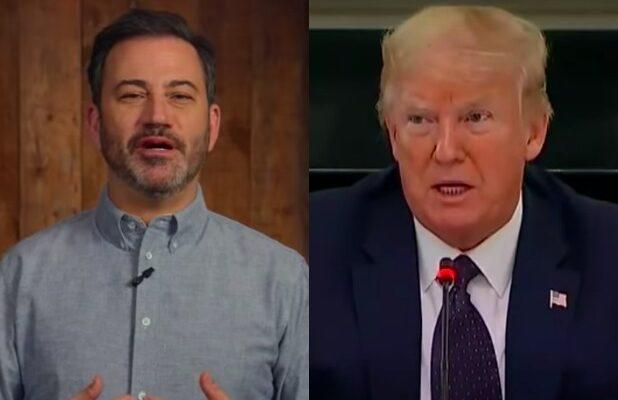 Jimmy Kimmel Thinks 'Hydroxy-Moron' Trump Is Trying to Assassinate Himself (Video)