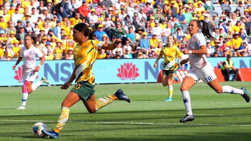 The Matildas are hoping for another big Bankwest Stadium crowd