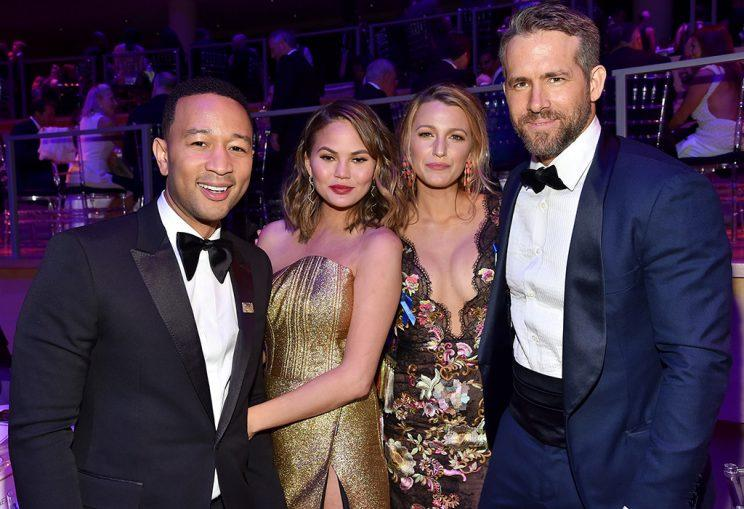 Blake Lively and Ryan Reynolds at Time 100 Gala