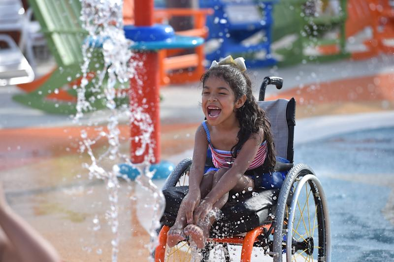 Guests with disabilities are admitted to Morgan's Inspiration Island at no cost.  (Robin Jerstad/Jerstad Photographics)