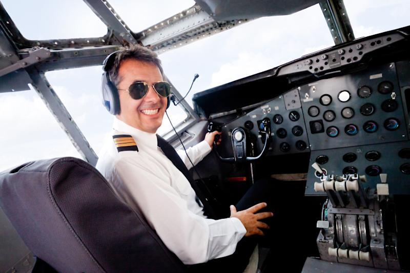 What has two thumbs and is ready to get this bird in the air?
