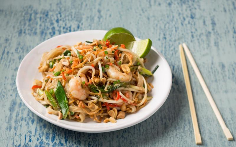 Stevie Parle's quick and easy pad Thai - Andrew Crowley