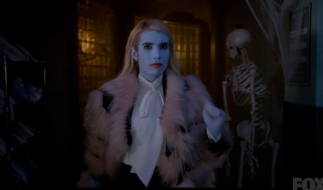 "Here's how to snag the killer fashion in ""Scream Queens"" episode, ""Halloween Blues"""