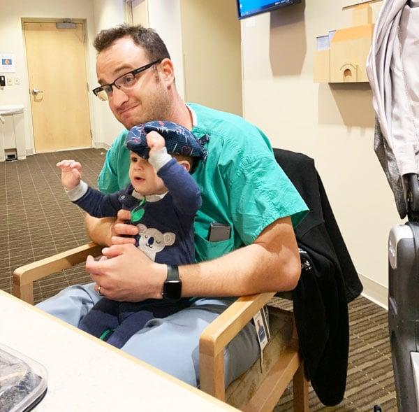 An Anesthesiologist And Father Gives The Low Down To Help You Bear Down: father and child
