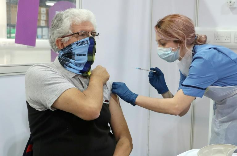 Britain has vaccinated 15 million of the most vulnerable people with a first jab