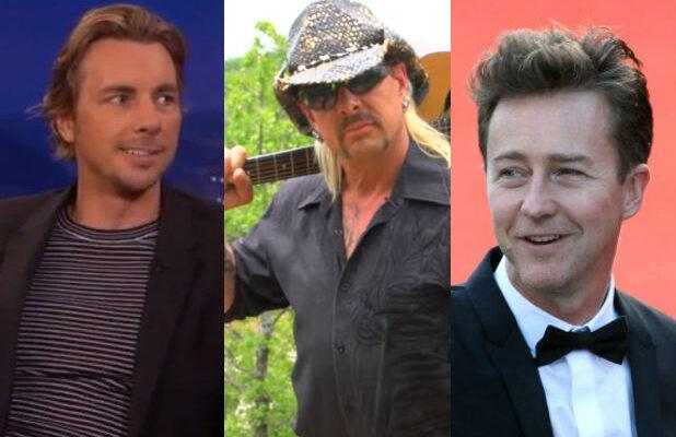 Edward Norton and Dax Shepard Both Think They Should Play 'Tiger King' Star Joe Exotic in a Biopic