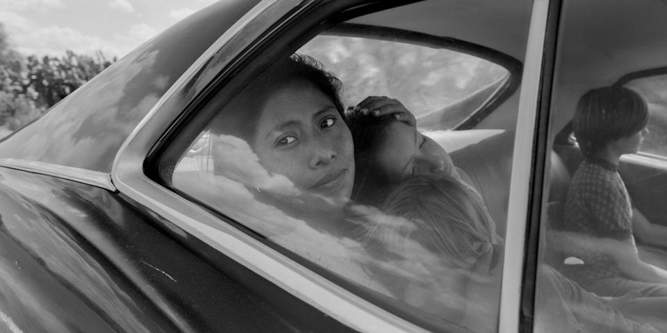 """<p>Highly inspired by his childhood memories, <em>Roma</em> is Alfonso Cuarón's most personal film yet. The movie relies on sound as well as a sense of time and space to preserve the authenticity of México from Cuarón's reflection. It's a personal portrait of the women who raised him, and it's handled with the utmost care. As an audience, we feel like a fly on the wall, watching incidents from his life that are so intimate, it almost feels like we are meddling. Using breathtaking long takes to feel the time pass with such elegance and grace, the film is allowed to be raw and vulnerable. It is a cinematic experience. —<em><em><em>A</em></em><em>na</em></em><br></p><p><a class=""""link rapid-noclick-resp"""" href=""""https://www.netflix.com/title/80240715"""" rel=""""nofollow noopener"""" target=""""_blank"""" data-ylk=""""slk:Watch Now on Netflix"""">Watch Now on Netflix</a></p>"""