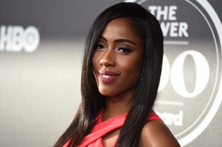Sevyn Streeter at a Billboard event in February. (Associated Press)
