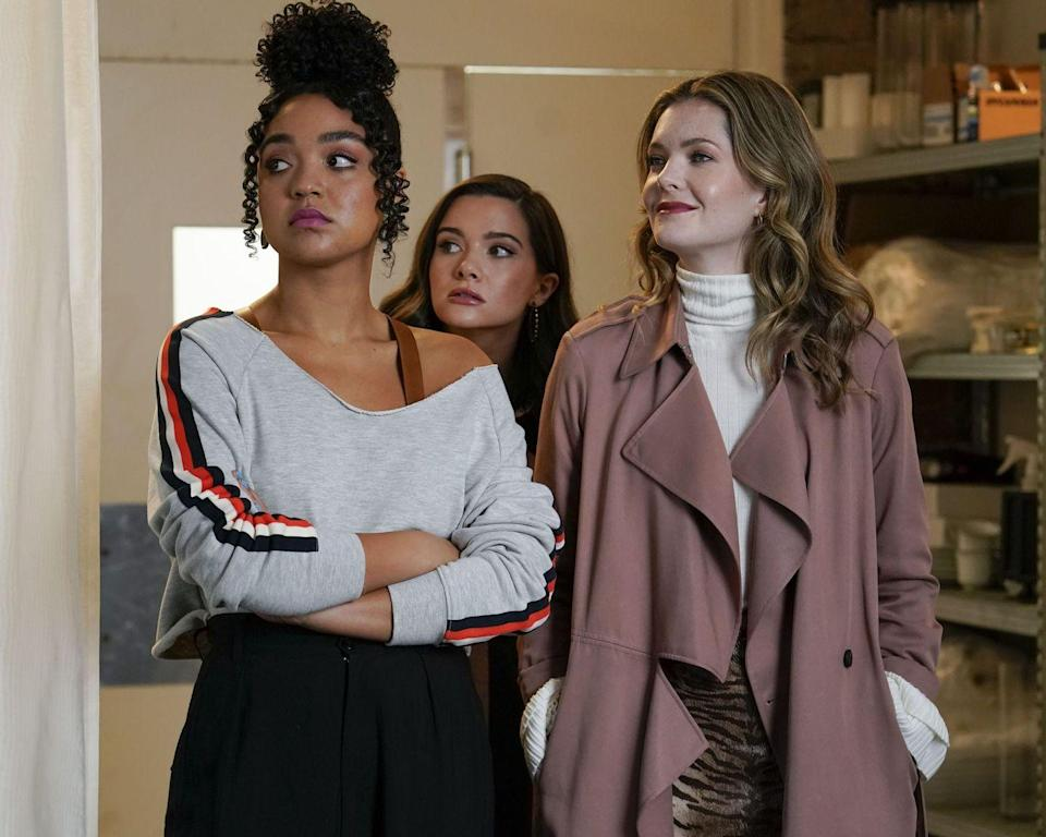 """<p>As many of us are out of the office, we'll subsist on the coworker banter found in shows like <em>Emily in Paris </em>and <em>The Bold Type</em>. The Freeform series focuses on three staff members of a women's magazine. <em>The Bold Type </em>is as glossy as the pages of a magazine. Sure, it's a few degrees removed from reality—but it's a joy to watch. </p><p><a class=""""link rapid-noclick-resp"""" href=""""https://www.freeform.com/shows/the-bold-type"""" rel=""""nofollow noopener"""" target=""""_blank"""" data-ylk=""""slk:Watch Now"""">Watch Now</a></p>"""