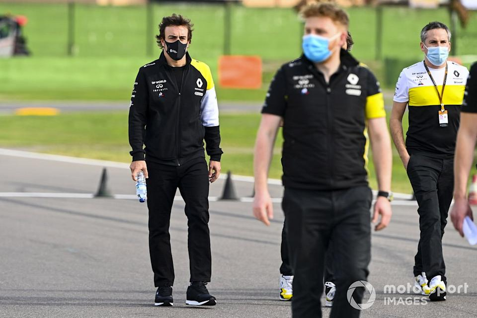 "Fernando Alonso, Renault en Imola<span class=""copyright"">Mark Sutton / Motorsport Images</span>"