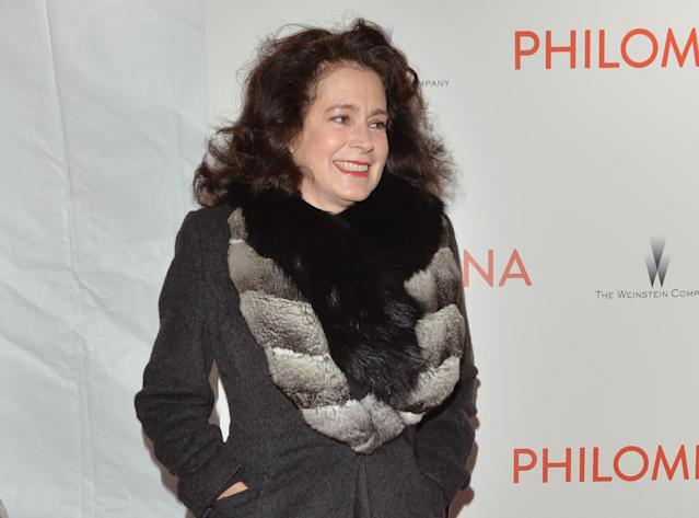 Sean Young attends the premiere of <em>Philomena</em> hosted by the Weinstein Company at Paris Theater, Nov. 12, 2013, in New York. (Photo: Getty Images)