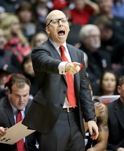 Cincinnati's Mick Cronin is under contract until 2021, but not all of it is guaranteed. (Getty Images)
