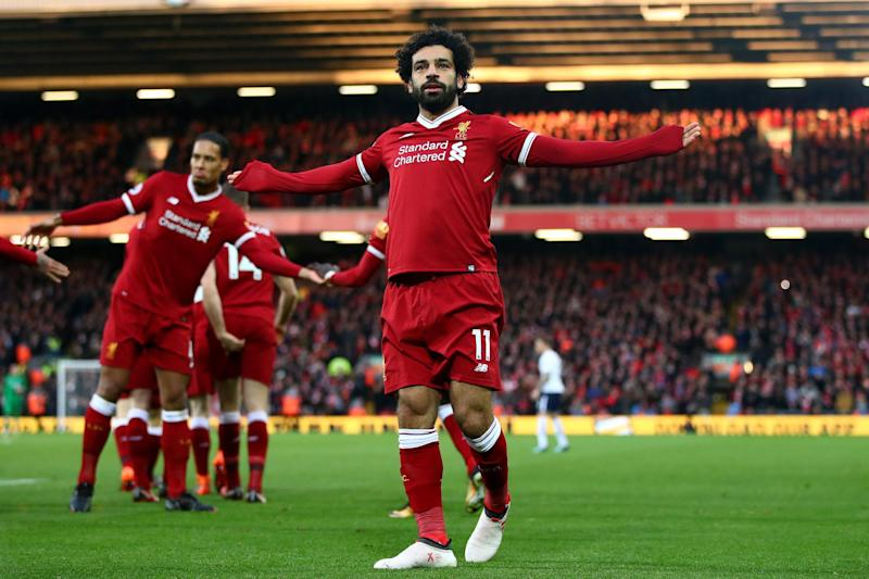 Shooting star | Salah is among the leading contenders for the Golden Boot: Getty Images
