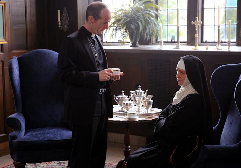 "Denis O'Hare and Melissa Leo star in ""Novitiate."" (Sony Pictures Classics)"
