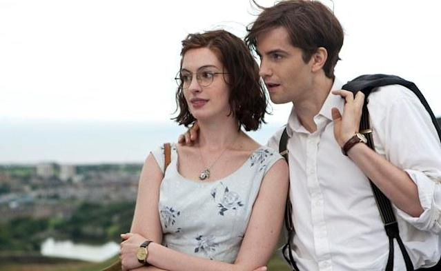 Anne Hathaway and Jim Sturgis in One Day
