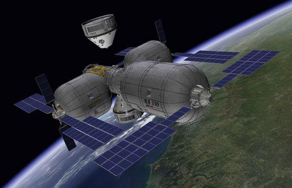 Inflatable Private Space Stations: Bigelow's Big Dream