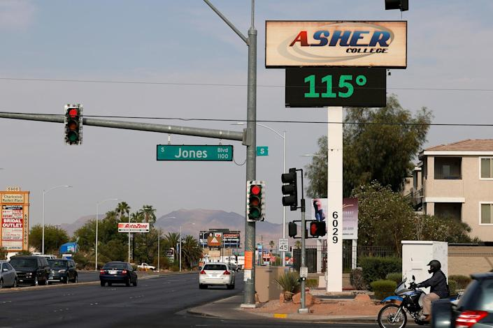 Heat Wave Continues in Southwest United States - Credit: Ethan Miller/Getty Images