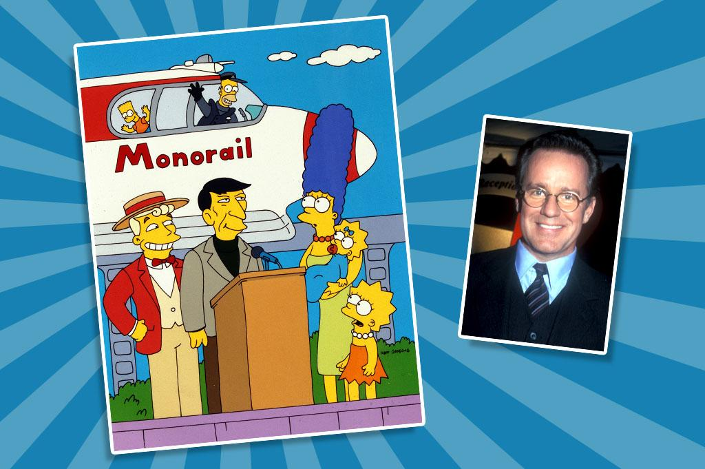 """Phil Hartman appeared in more than 50 episodes of """"The Simpsons,"""" beginning in Season 2 with what was supposed to be a one-time appearance as Lionel Hutz. However, Hartman enjoyed the experience, the show's producers loved his work, and fans ate up the clueless attorney. Soon he was taking on other classic supporting roles, including washed-up actor Troy McClure and con man Lyle Lanley, who convinced Springfield to build a monorail in one of the show's most beloved episodes."""