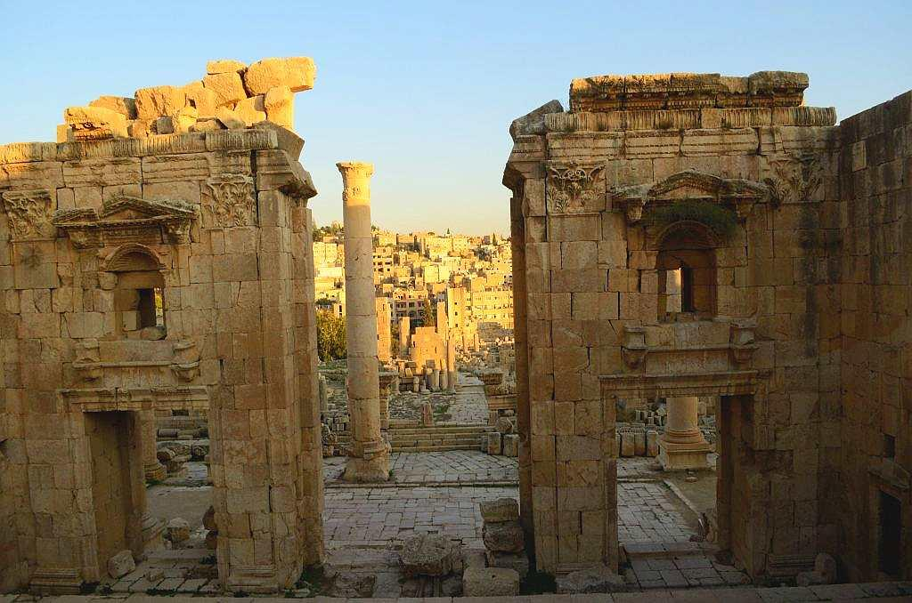 It is believed that Jerash was initially built with donations. There are churches here and even a cathedral and some of them have beautiful mosaics.