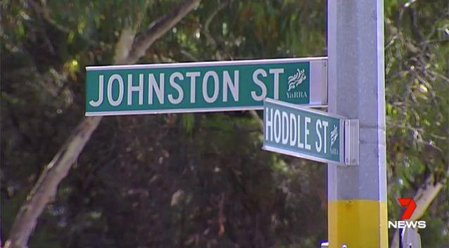 The P-turn affects Hoddle Street and Johnson Street. Source: 7 News