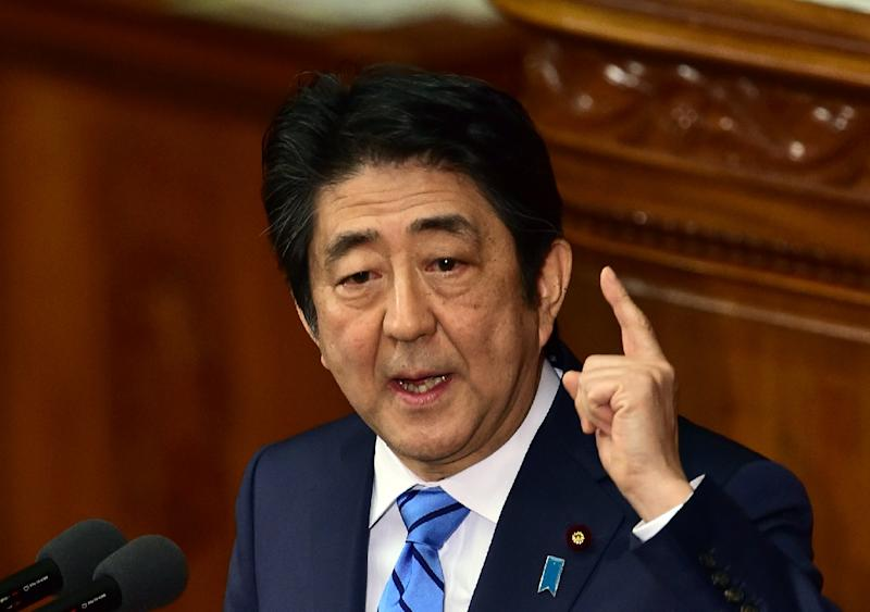 """Japanese Prime Minister Shinzo Abe has described North Korea's recent nuclear test and rocket launch as """"serious threat"""" to the region"""