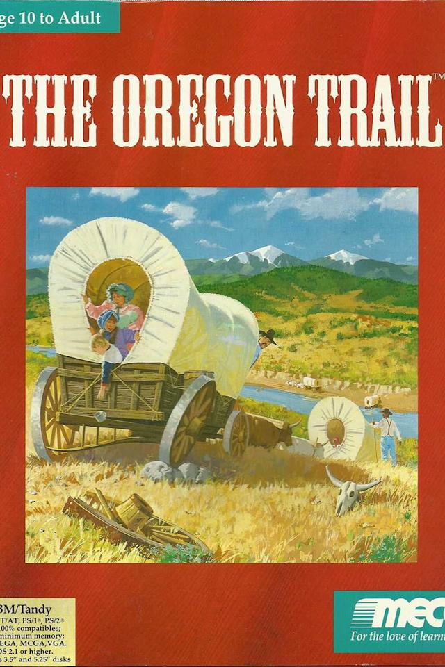 """<p><a class=""""body-btn-link"""" href=""""https://www.amazon.com/Oregon-Trail-Adventures-along-5th/dp/B00005LBVS/?tag=syn-yahoo-20&ascsubtag=%5Bartid%7C10060.g.2711%5Bsrc%7Cyahoo-us"""" target=""""_blank"""">PLAY NOW</a></p><p>Although far from its final version, Minnesotan teachers Don Rawitsch, Bill Heinemann, and Paul Dillenberger created <em>The Oregon Trail</em> for the teletypewriter and debuted the game in Rawitsch's 8th grade history class on December 3, 1971. Three years later, it'd begin its journey to becoming the game that taught millions about westward expansion and the definition of the word """"dysentery.""""</p><p><strong>Honorable mention:</strong> <em>Computer Space</em></p>"""