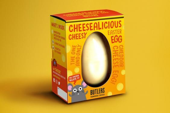 (Sainsbury's) The 'Cheesalicious' Easter egg