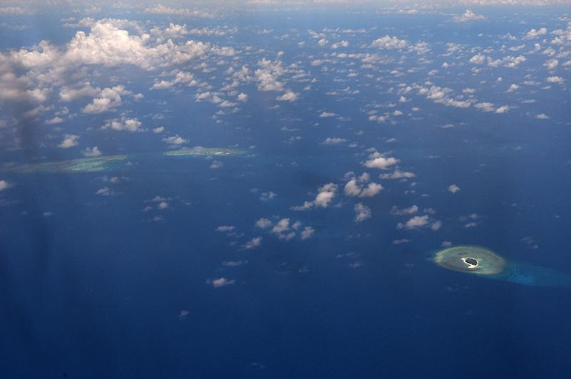 The US Navy regularly carries out such operations to challenge China's vast claims to the South China Sea, where Beijing has turned reefs into militarised artificial islands