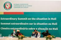 ECOWAS refrained from reimposing sanctions -- a move it had adopted after the first coup