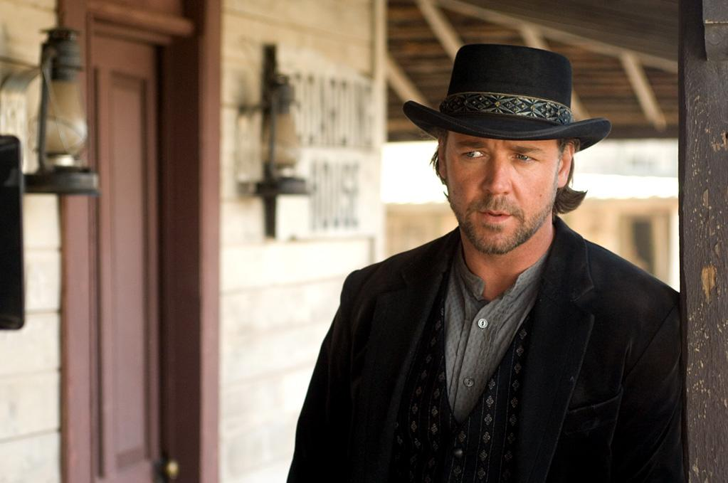 "<a href=""http://movies.yahoo.com/movie/1809781728/info"">3:10 to Yuma</a> (2007): The original 1957 Western didn't need to be remade, but director James Mangold not only remains true to its roots but expands on them in ways that are thrilling and thoroughly entertaining. Crowe, as the dangerous Ben Wade, does whatever he wants, whenever he wants. He comes off like a gentleman, quoting scripture and drawing detailed sketches of the various people he meets on his travels. But he's still a killer through and through, and Crowe, with his infinite capacity for both charm and darkness, reveals all the colors of his character's personality subtly, brilliantly. His mano-a-mano verbal sparring with fellow heavyweight actor Christian Bale, as the rancher tasked with escorting Wade to the train that'll take him to prison, is a joy to watch."