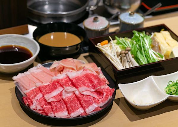 All you-can-eat Kobe beef course
