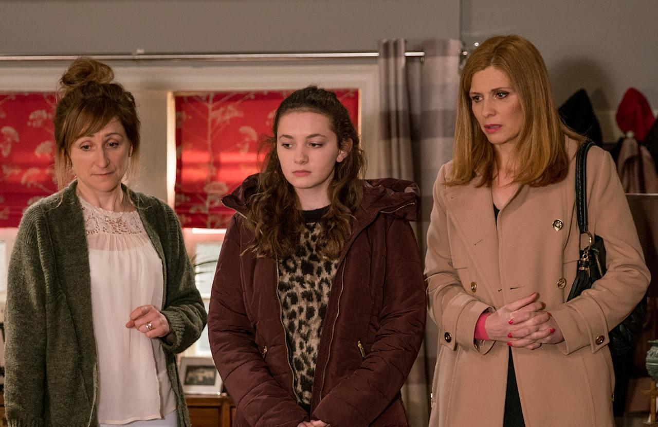 <p>All she wants is time alone with her dad, but Laurel has invited all of Ashley's friends over to say their goodbyes.</p>