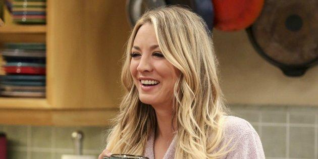 Kaley Cuoco, en una escena de 'The Big Bang Theory'.