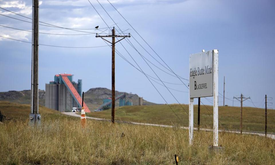 The Eagle Butte mine just north of Gillette, Wyoming.