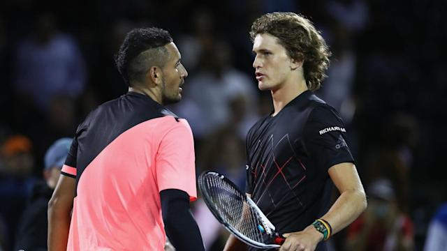 Alexander Zverev and Nick Kyrgios can be the ATP Tour's stars in the future, but Andre Agassi does not feel they are ready yet.