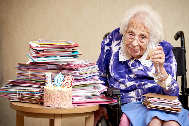 Dorothy credits champagne as the key to her long life [Photo: SWNS]