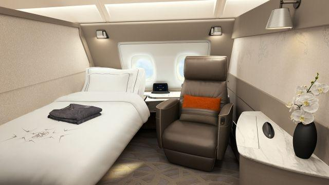 Singapore Airlines, A380, Suite