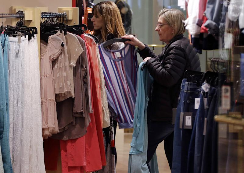 Consumer confidence falls in March
