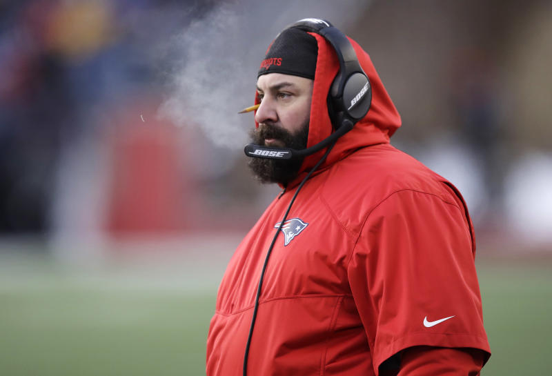 d9f6133d616 New England Patriots defensive coordinator Matt Patricia is a hot head  coaching candidate