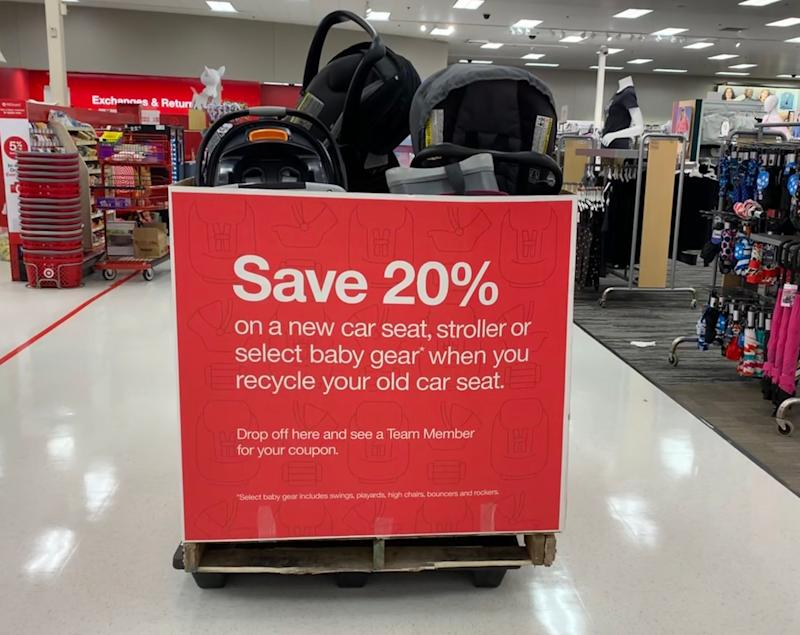 Walmart's car seat recycling event underway through Sept. 21. What you need to know.