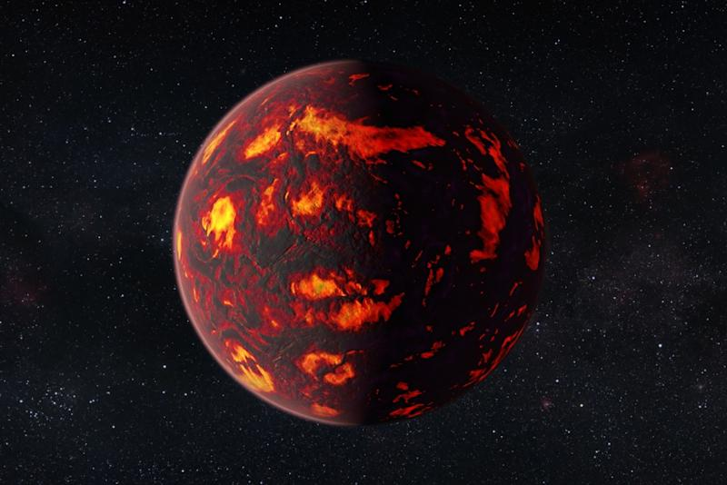 Astronomers detect atmosphere of a distant, diamond-like super-Earth for first time