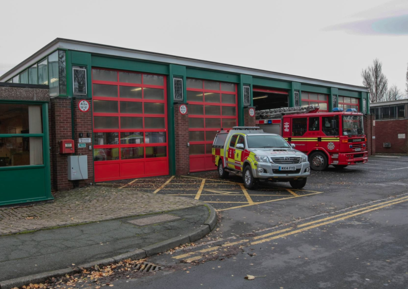 A firefighter has killed himself at Wolverhampton Fire Station