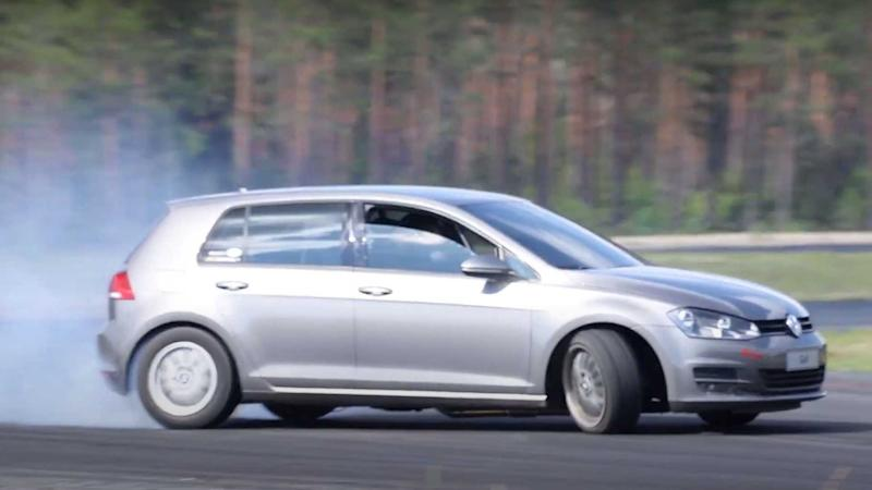This Totally Stock-Looking VW Golf Is Actually V8-Powered And RWD