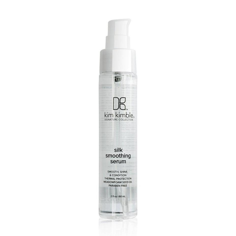 """<h2>Kim Kimble Haircare</h2><br>Third-generation hairstylist <a href=""""https://www.refinery29.com/en-us/2016/12/134439/beyonce-hair-stylist-kim-kimble-haircare-line"""" rel=""""nofollow noopener"""" target=""""_blank"""" data-ylk=""""slk:Kim Kimble"""" class=""""link rapid-noclick-resp"""">Kim Kimble</a> practically grew up in the hair salon before going on to study at the Vidal Sassoon Academy. Now, she's a full-fledged hair icon with her own salon, her own eponymous brand, and perhaps the most high-profile client on the planet: Beyoncé. Her line of products — paired with her educational tutorials on Instagram — are the closest thing to having Queen Bey's hairstylist in your own bathroom.<br><br><strong>Kim Kimble</strong> Silk Smoothing Serum, $, available at <a href=""""https://go.skimresources.com/?id=30283X879131&url=https%3A%2F%2Fshopkimkimble.com%2Fproducts%2Fsilk-smoothing-serum"""" rel=""""nofollow noopener"""" target=""""_blank"""" data-ylk=""""slk:Kim Kimble"""" class=""""link rapid-noclick-resp"""">Kim Kimble</a>"""