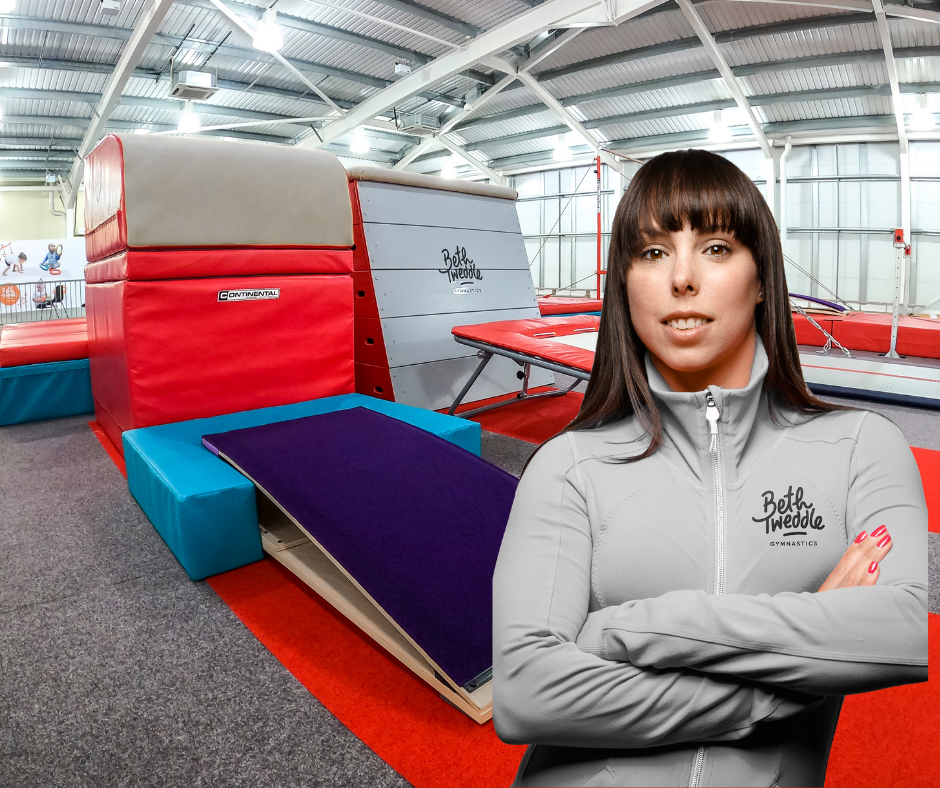 Tweddle scooped a bronze medal at London 2012 and now runs Beth Tweddle Gymnastics in Bolton