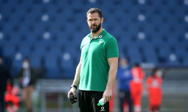 Ireland head coach Andy Farrell has made six changes to his starting XV for the Six Nations finale with England